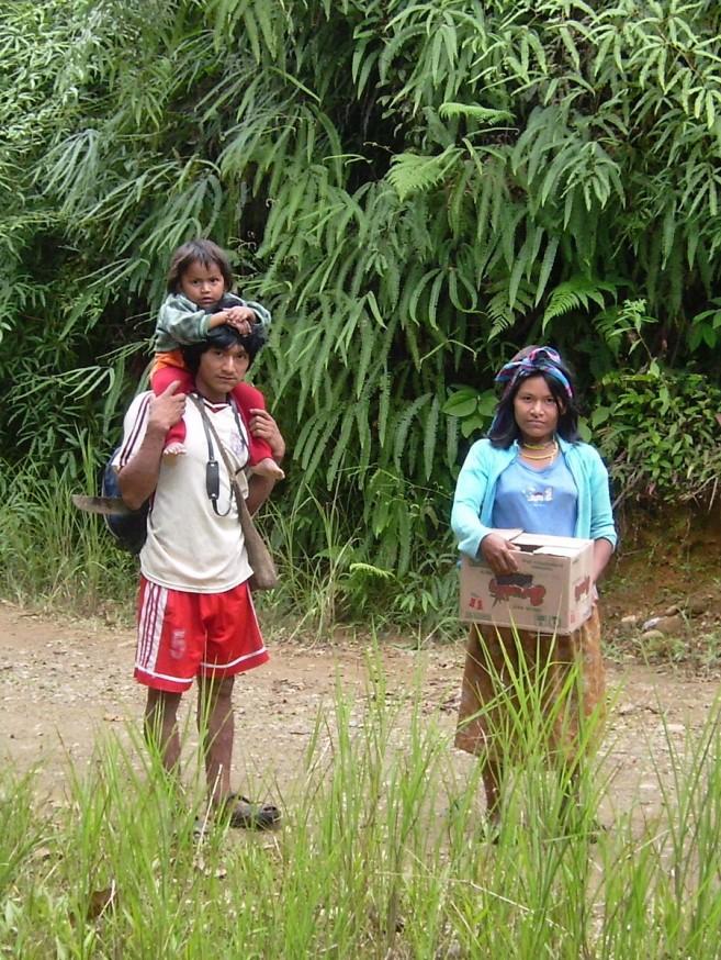 Comunidad nativa de Huacaria - Indigènes 2