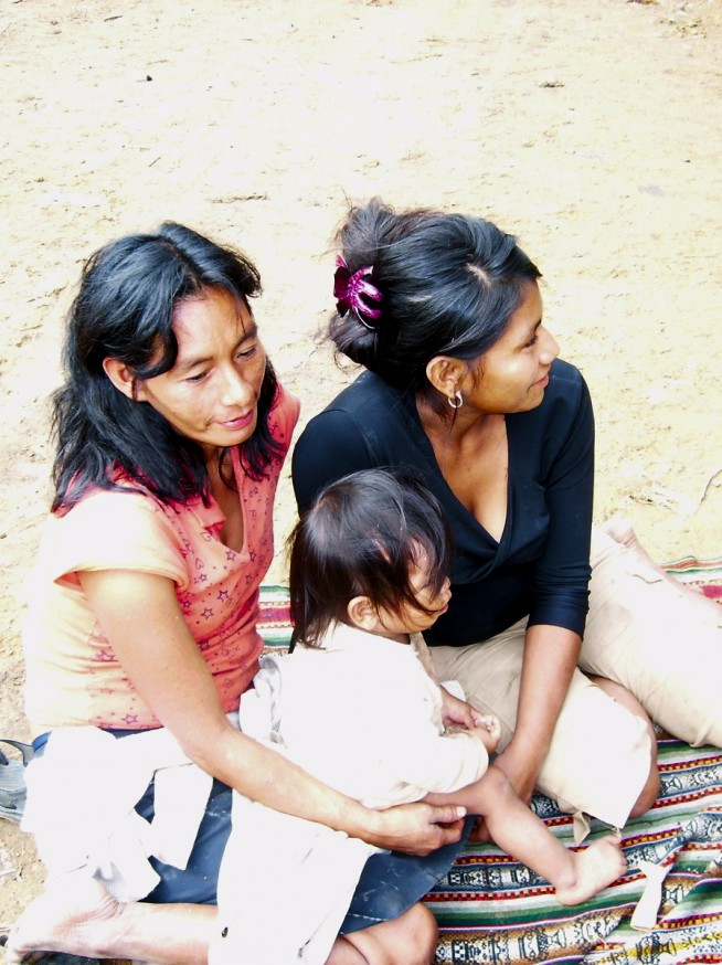 Comunidad nativa de Huacaria - Indigènes