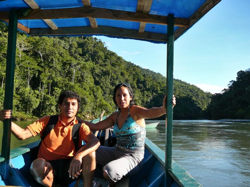 Rosa et Percy Atalaya