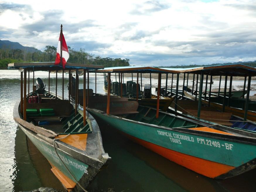 Pirogues port Atalaya 2