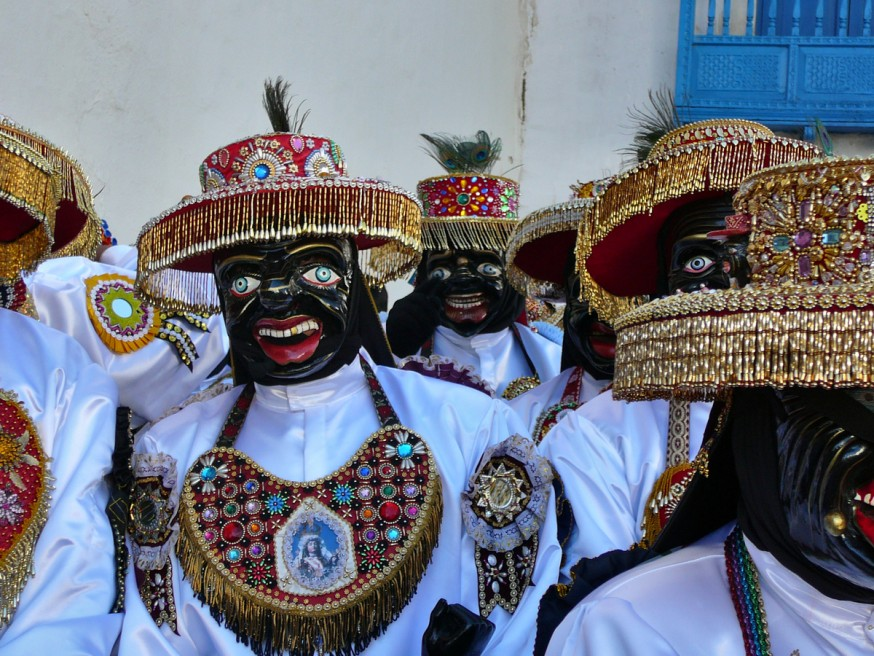 Qhapaq Negro - Virgen del Carmen - Paucartambo