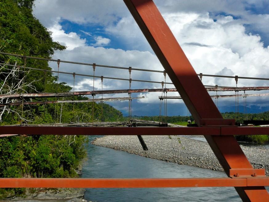 Vieux pont Pilcopata