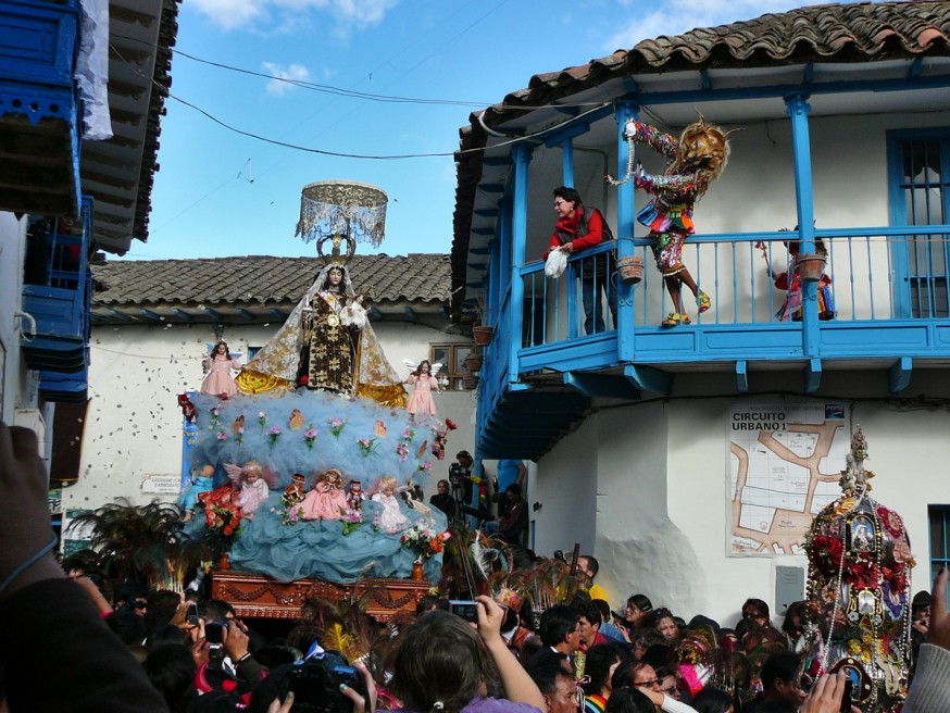 Virgen del Carmen - Paucartambo