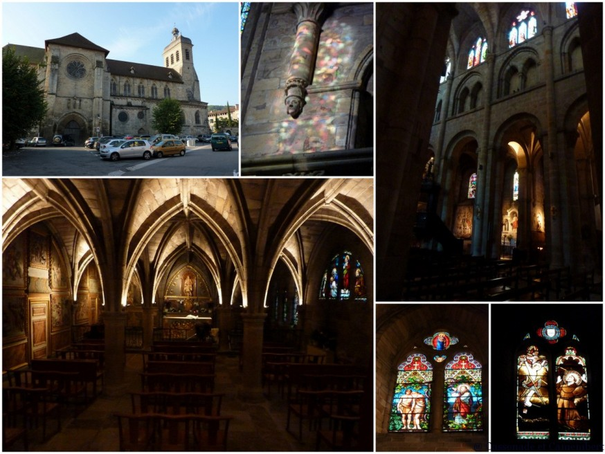 Compostelle Quercy -  Eglise Saint Sauveur Figeac