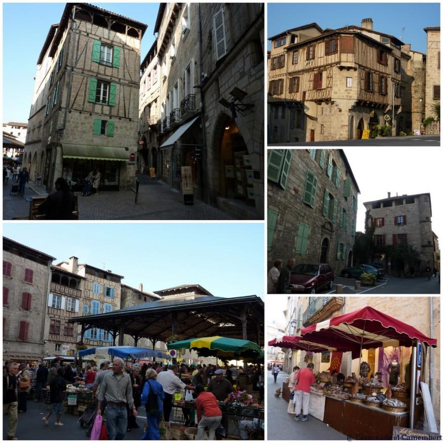Compostelle Quercy - Vieille ville Figeac