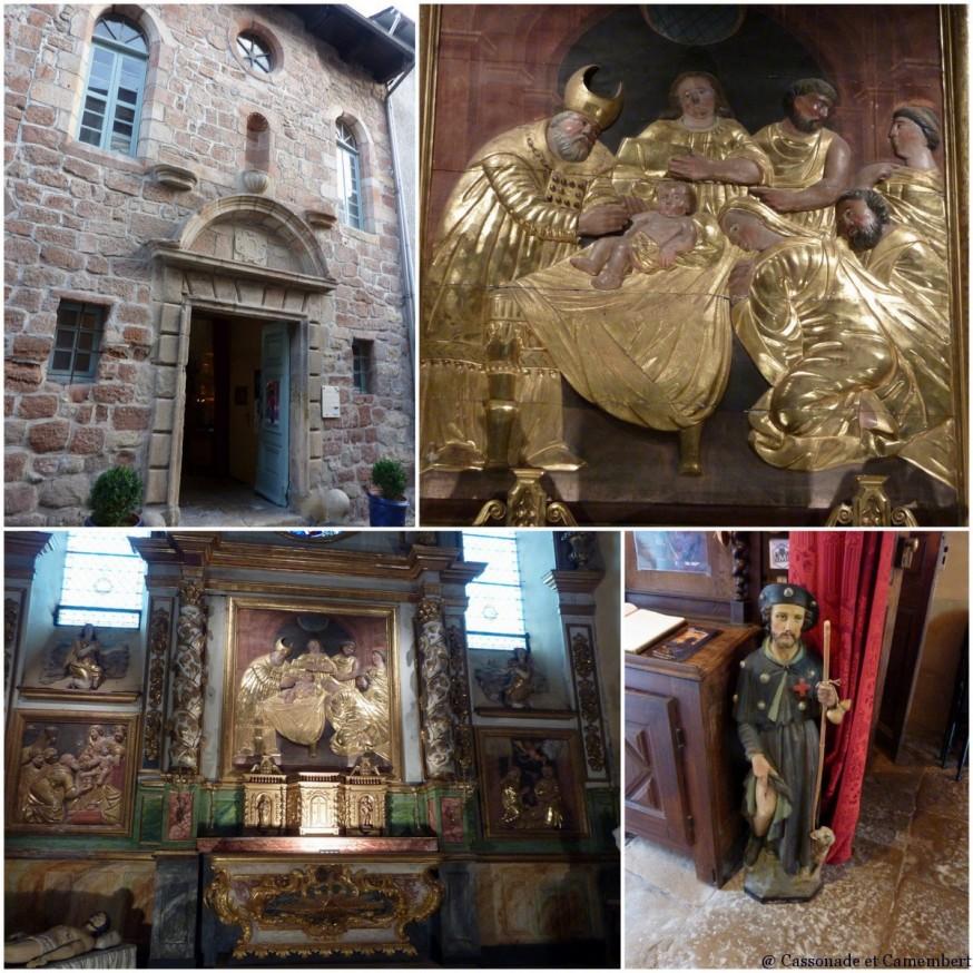 Chapelle des penitents Espalion - compostelle lot