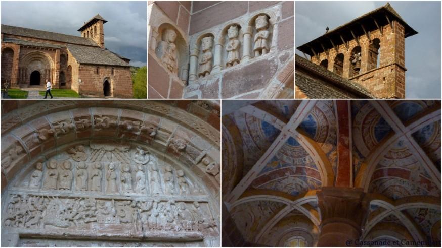 Eglise de Perse Espalion - compostelle lot
