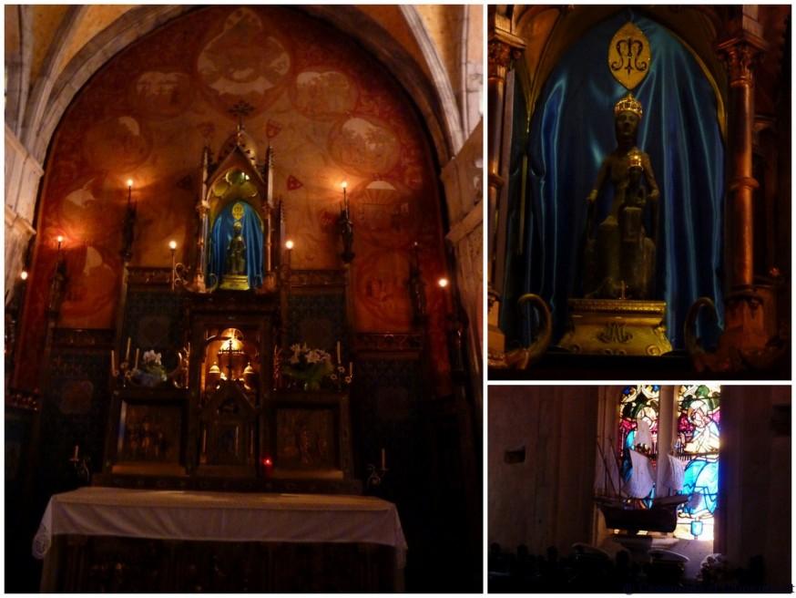 Compostelle Vierge noire de Rocamadour