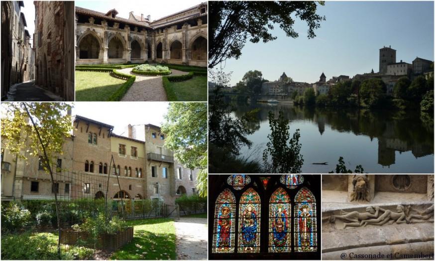 Centre de Cahors - compostelle quercy blanc