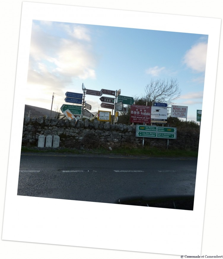 Panneaux Irlande
