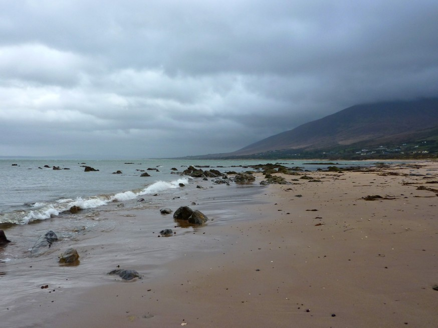 Plage dingle peninsula
