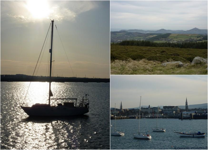 Wicklow et port de Dun Laoghaire