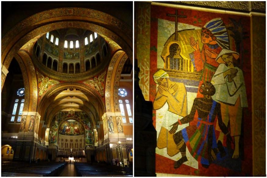 Basilique Lisieux interieur