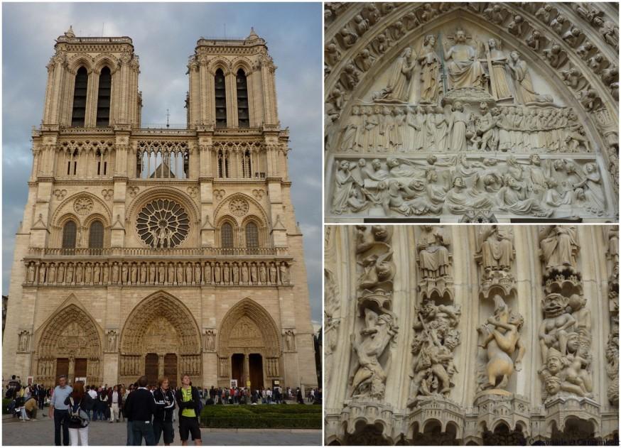 Notre Dame de Paris Facade