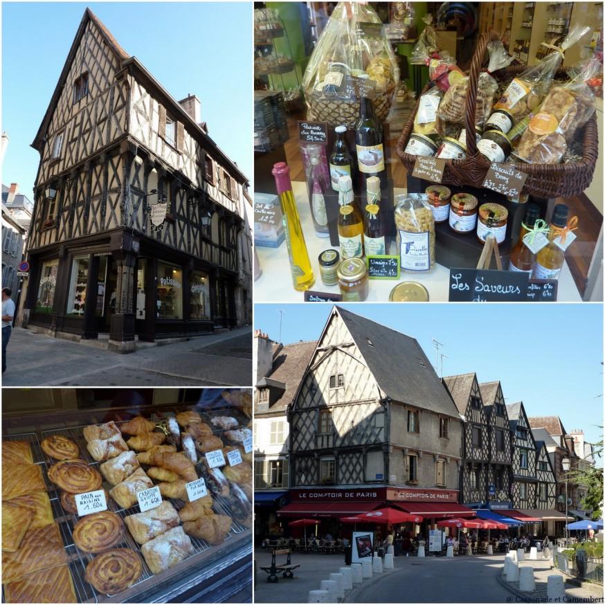Bourges maisons pans de bois