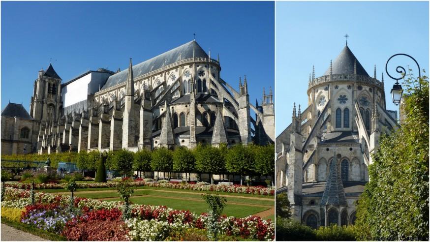 Cathedrale de Bourges Exterieur