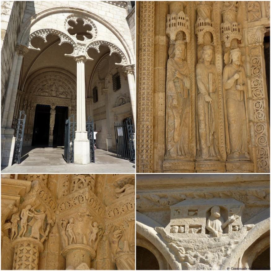 Cathedrale de Bourges Facade