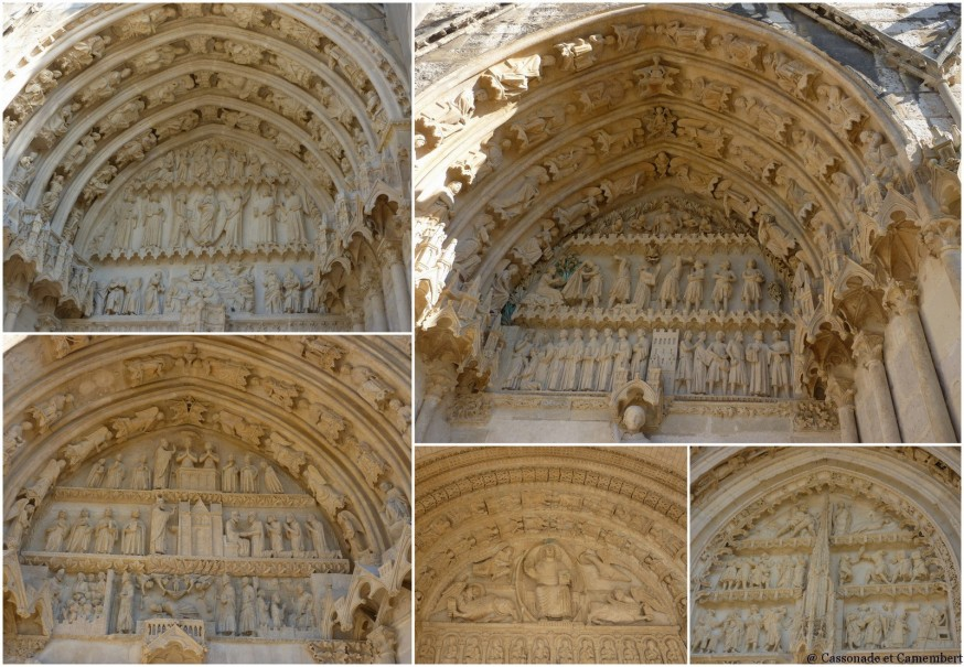 Cathedrale de Bourges Tympans