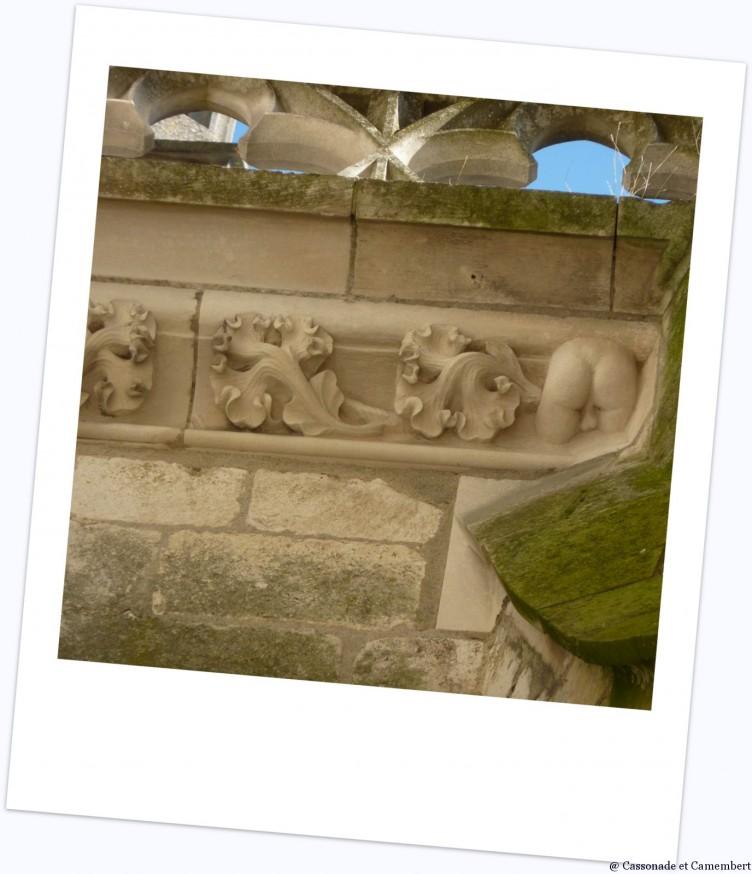 Fesses cathedrale de Bourges