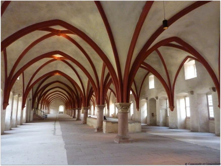 Dortoir moines Eberbach