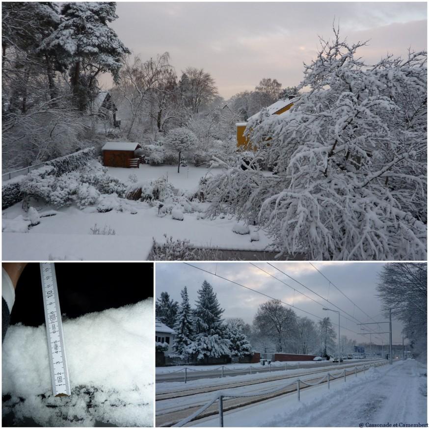Neige à Darmstadt