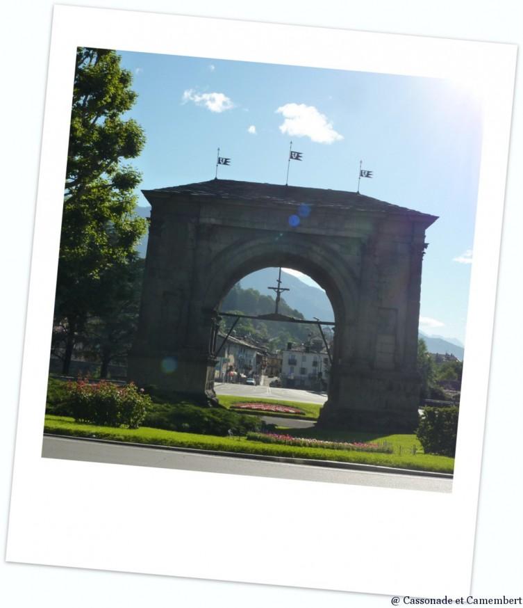 Arc d Auguste a Aoste