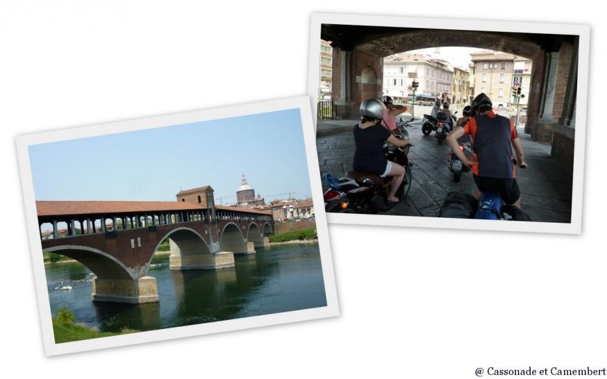 Arrivée à Pavia