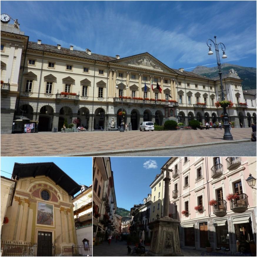 Centre-ville d Aoste