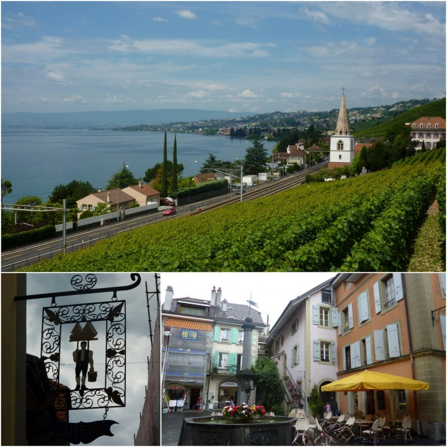 Villages du lac Léman