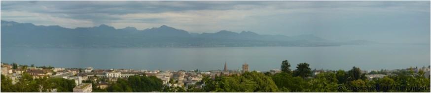 Vue Lac Léman Lausanne