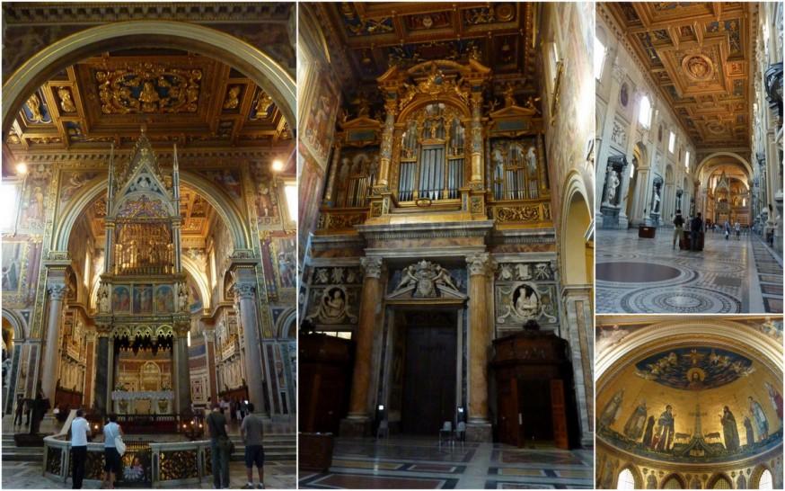 St Jean de Latran intérieur Rome