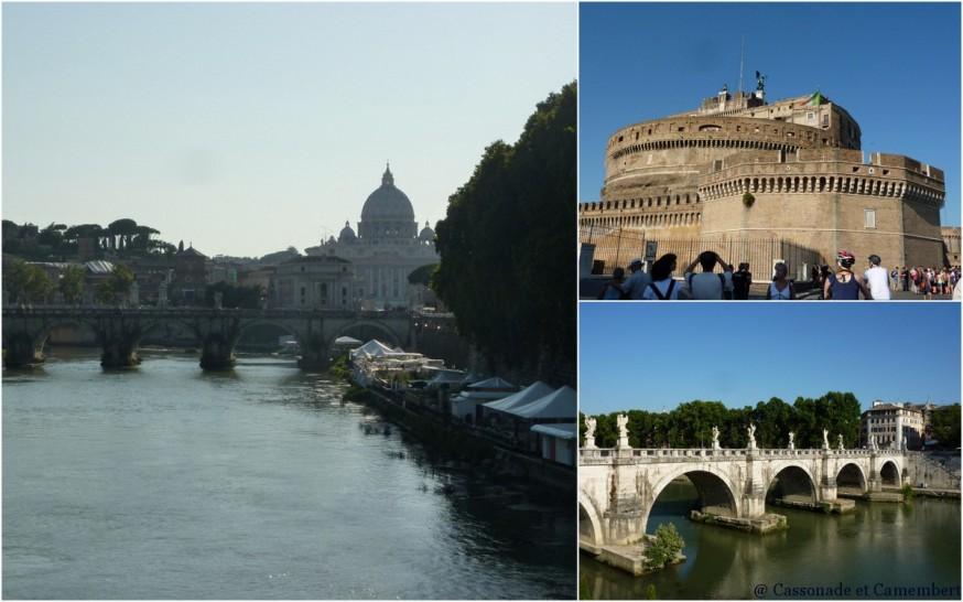 Chateau et pont St Ange