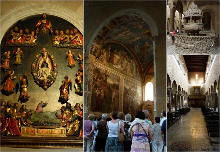 Intérieur église San Frediano Lucca