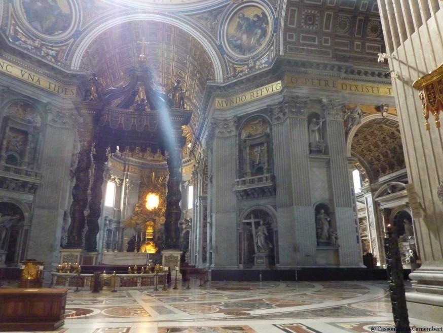Intérieur St Pierre Vatican