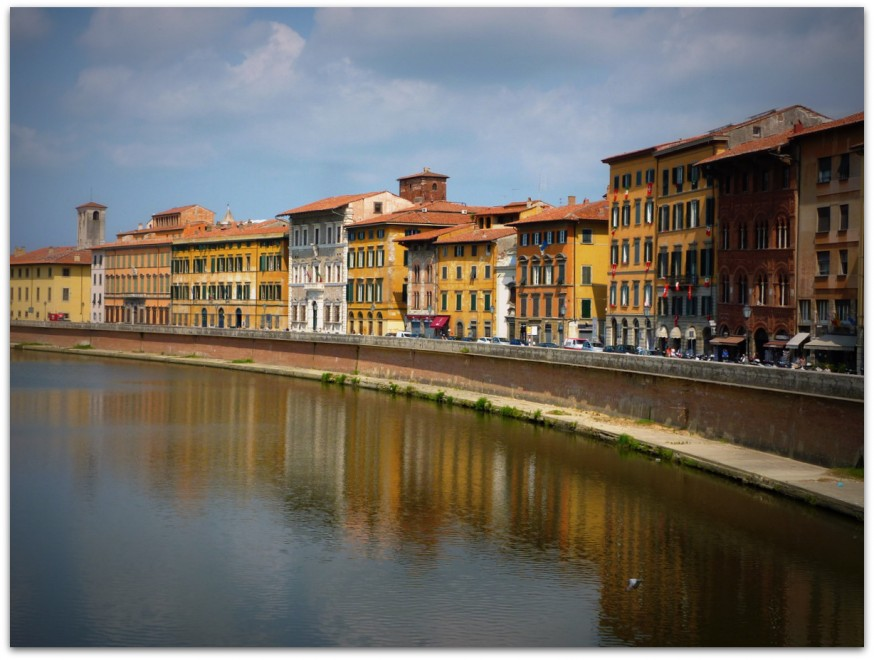 Rives de l'Arno Pise