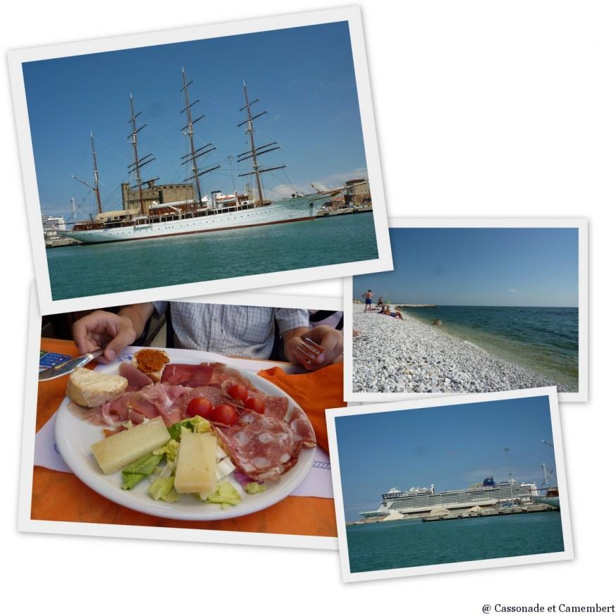 Port et plage Livourne