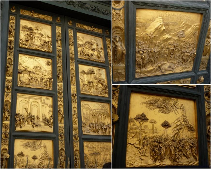 Portes baptistère Florence