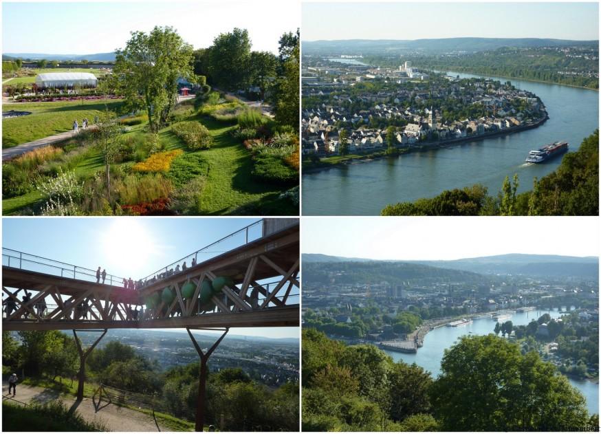 Vue sur le Rhin BUGA Koblenz