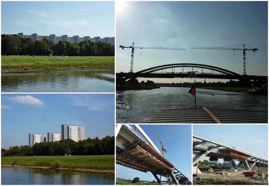 Chantier pont Elbe