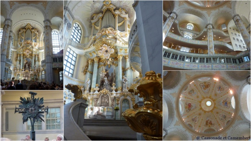 Frauenkirche Dresde - intérieur