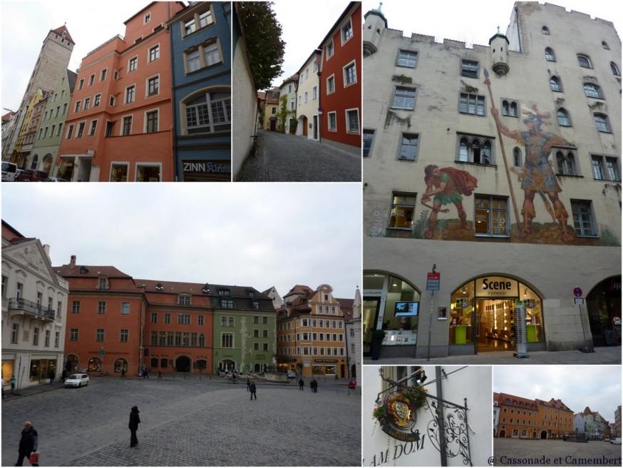 Centre ancien Regensburg