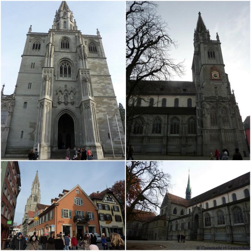 Extérieur cathédrale Konstanz