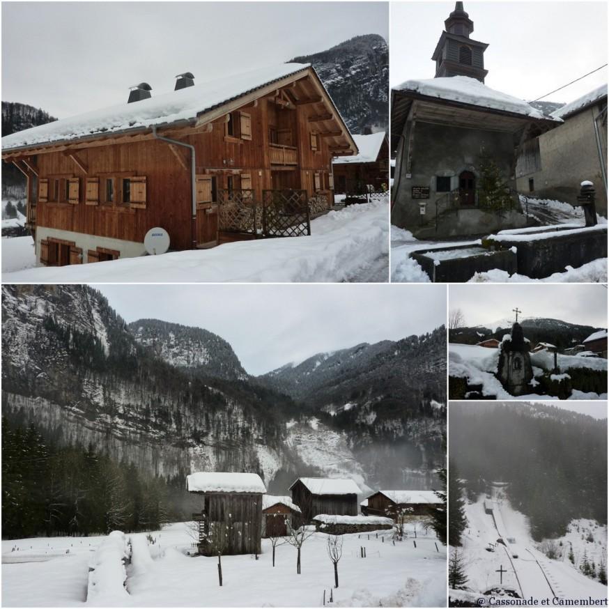 Village de Sixt Fer à Cheval