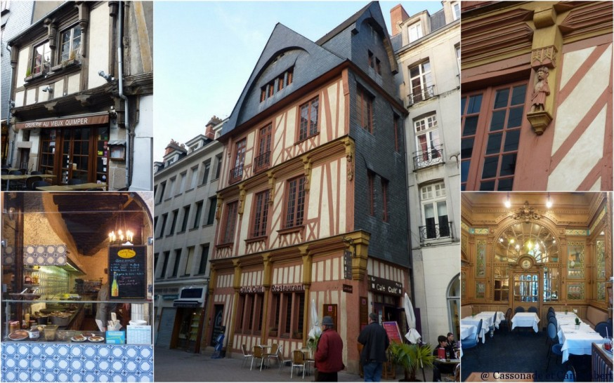 Maisons colombages Nantes