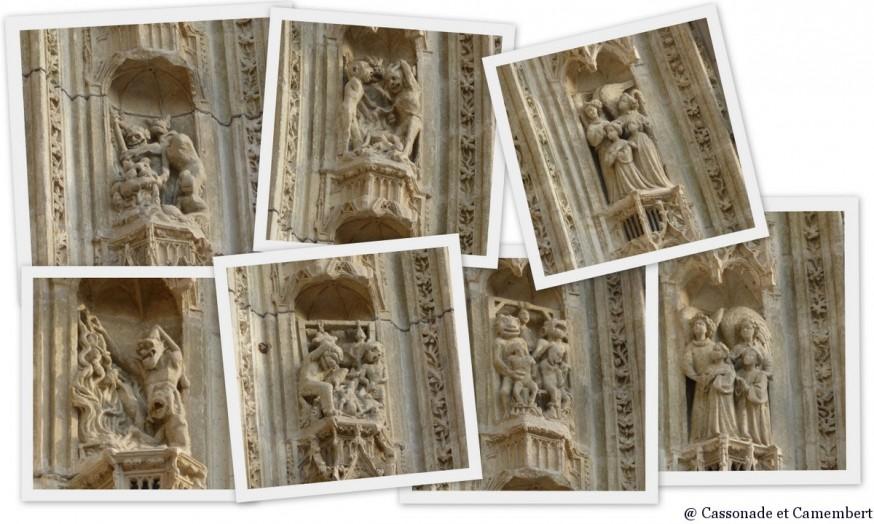 Tympan cathédrale de Nantes