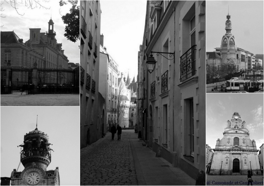 Vieille ville Nantes