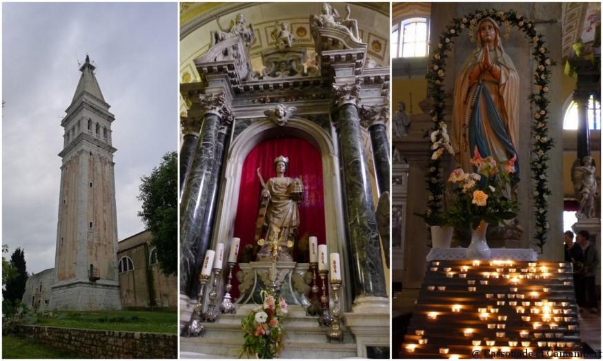 La Cathedrale Sainte-Euphémie à Rovinj en Istrie