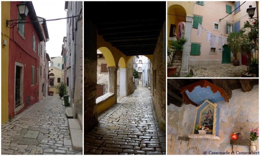 La vieille ville de Rovinj