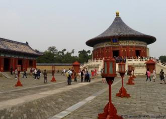 Cour temple du ciel pekin