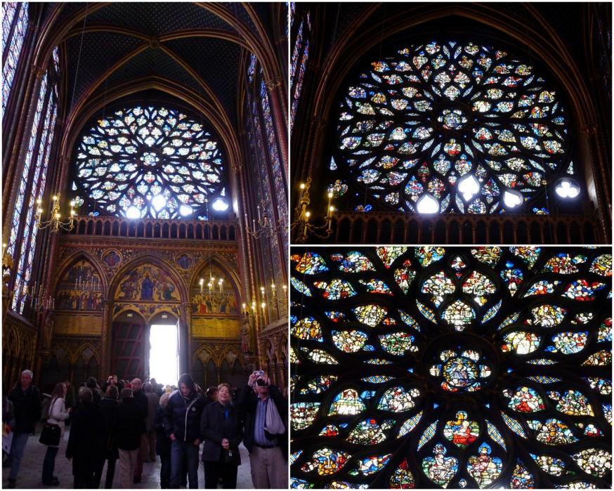 Rosace Sainte-Chapelle